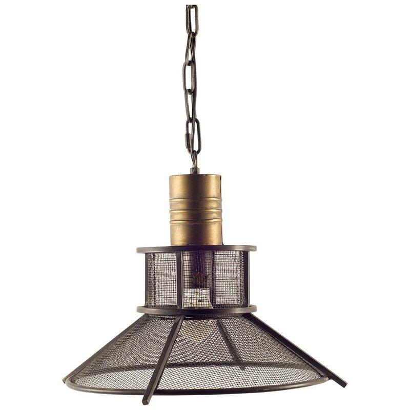 Williston Forge Kaylyn 1 Light Single Cone Pendant Wayfair