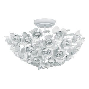 Cypress 3-Light Semi Flush Mount