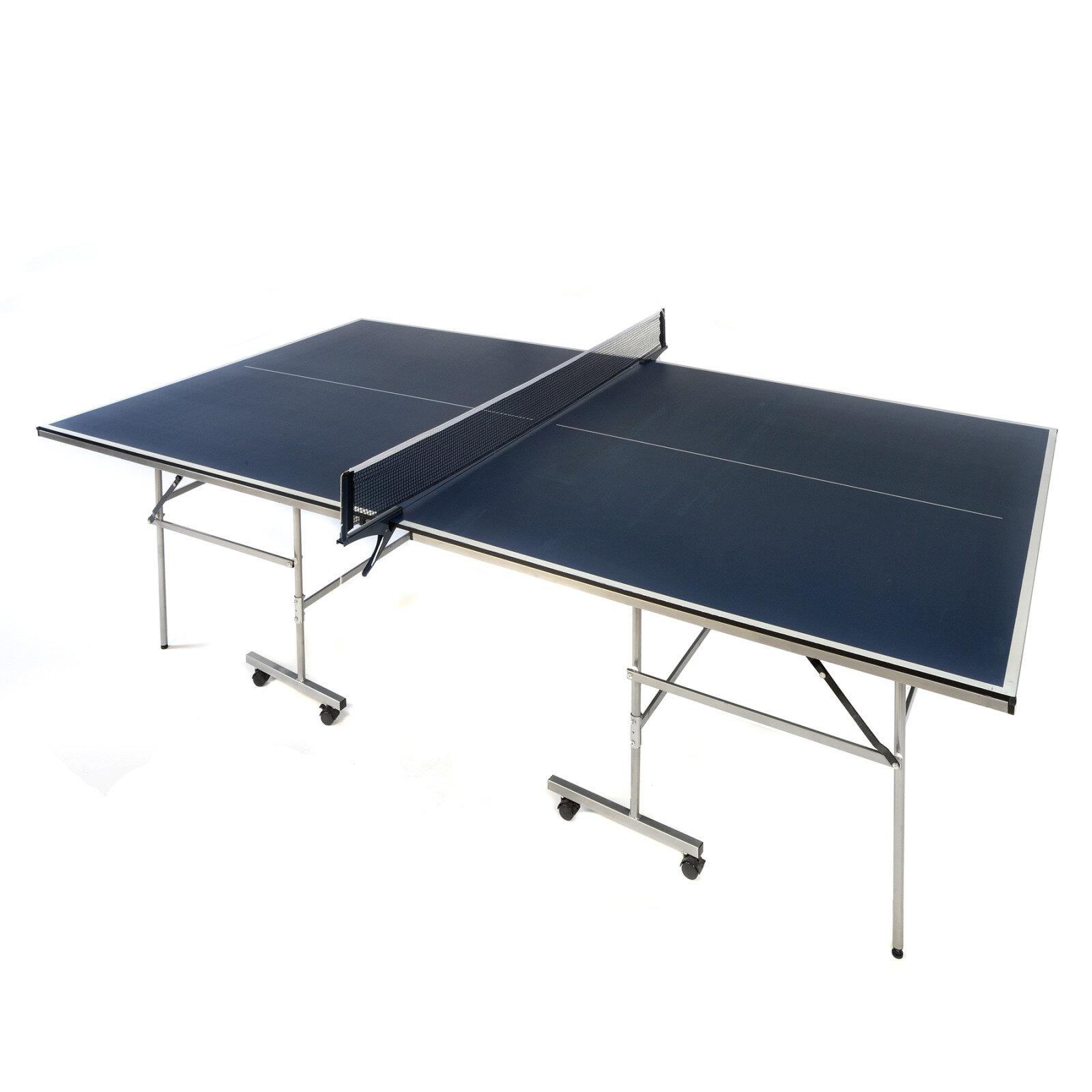 Wildon Home Comet Regulation Size Foldable Indoor Table Tennis Table Wayfair