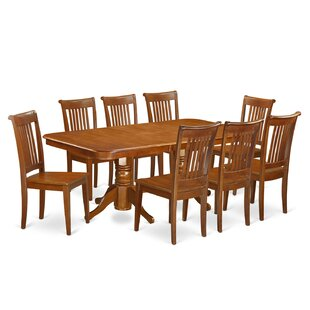 Naport 9 Piece Dining Set East West Furniture