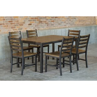 Loft 7 Piece Dining Set by Elan Furniture
