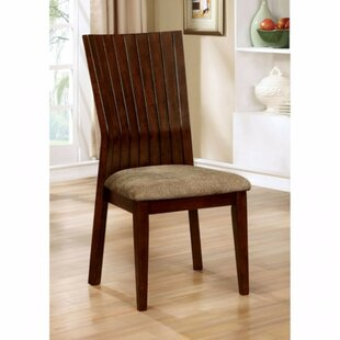 Mazucci Solid Wood Dining Chair (Set of 2) Loon Peak
