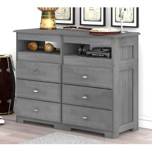 Online Reviews Caiden 6 Drawer Double Dresser by Alcott Hill Reviews (2019) & Buyer's Guide