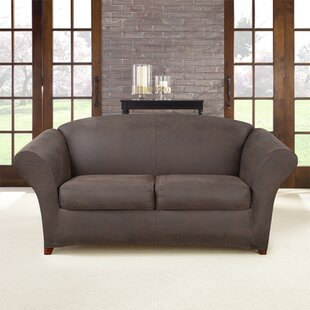 Ultimate Stretch Box Cushion Loveseat Slipcover