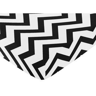 Bargain Chevron Fitted Crib Sheet BySweet Jojo Designs