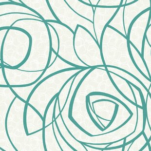 Turquoise Wall Paper Wayfair