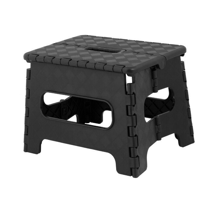 Incredible 1 Step Plastic Step Stool With 300 Lb Load Capacity Caraccident5 Cool Chair Designs And Ideas Caraccident5Info