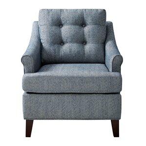 Frasier Tufted Armchair by Alcott Hill