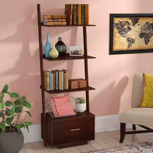 Best Reviews Carlucci Ladder Bookcase ByMercury Row