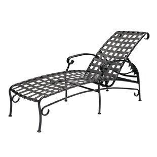 Woodard Ramsgate Adjustable Chaise Lounge