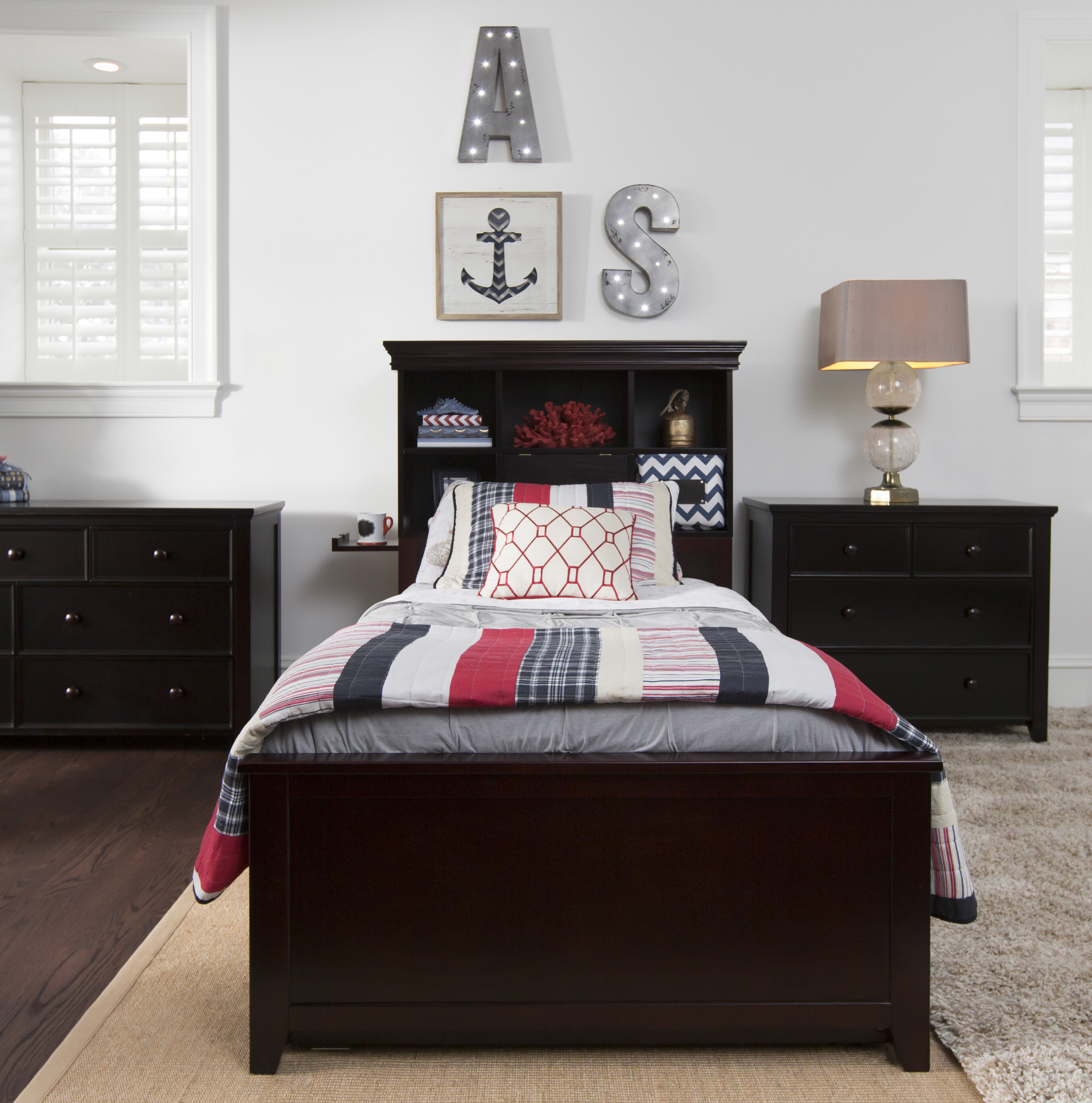 Harriet Bee Cowan Twin Bed With Drawers Reviews Wayfair