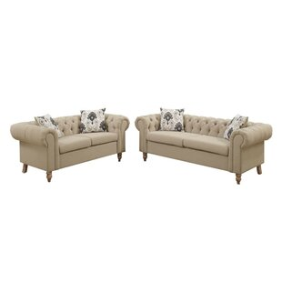 Destinie 2 Piece Living Room Set by House of Hampton