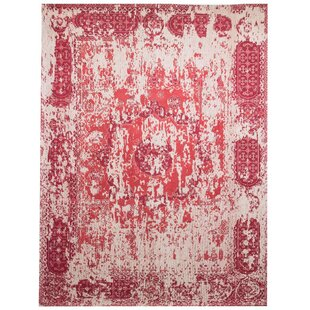 Parlington Hand Tufted Red Indoor/Outdoor Rug By Williston Forge