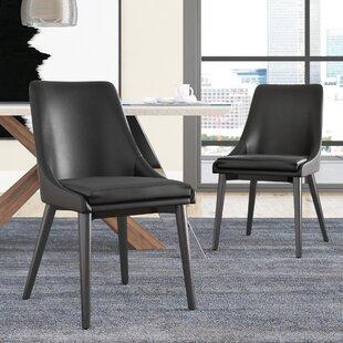 Minton Vinyl Dining Side Chair (Set of 2)..