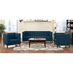 Modway Panache 3 Piece Living Room Set