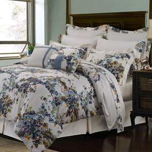 100 cotton 12 piece reversible comforter set