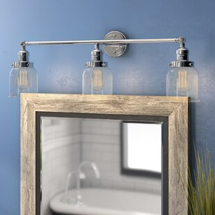 Check Prices Nason Bell 3-Light Vanity Light ByBeachcrest Home