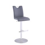 Cavandale Adjustable Height Swivel Bar Stool by Orren Ellis