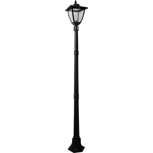 Best Reviews Bayport 27-Light LED 72 Post Light By Nature Power
