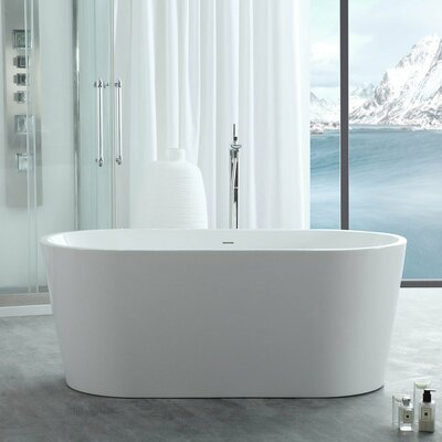 Chloe Freestanding Soaking Bathtub Chevington
