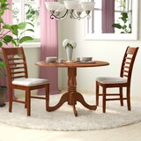 Spruill Drop Leaf Solid Wood Dining Set by August Grove®