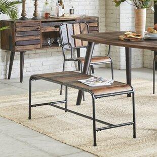 Greyleigh Judsonia Metal/Wood Bench