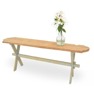 Review Floor Board Console Table By Sarreid Ltd