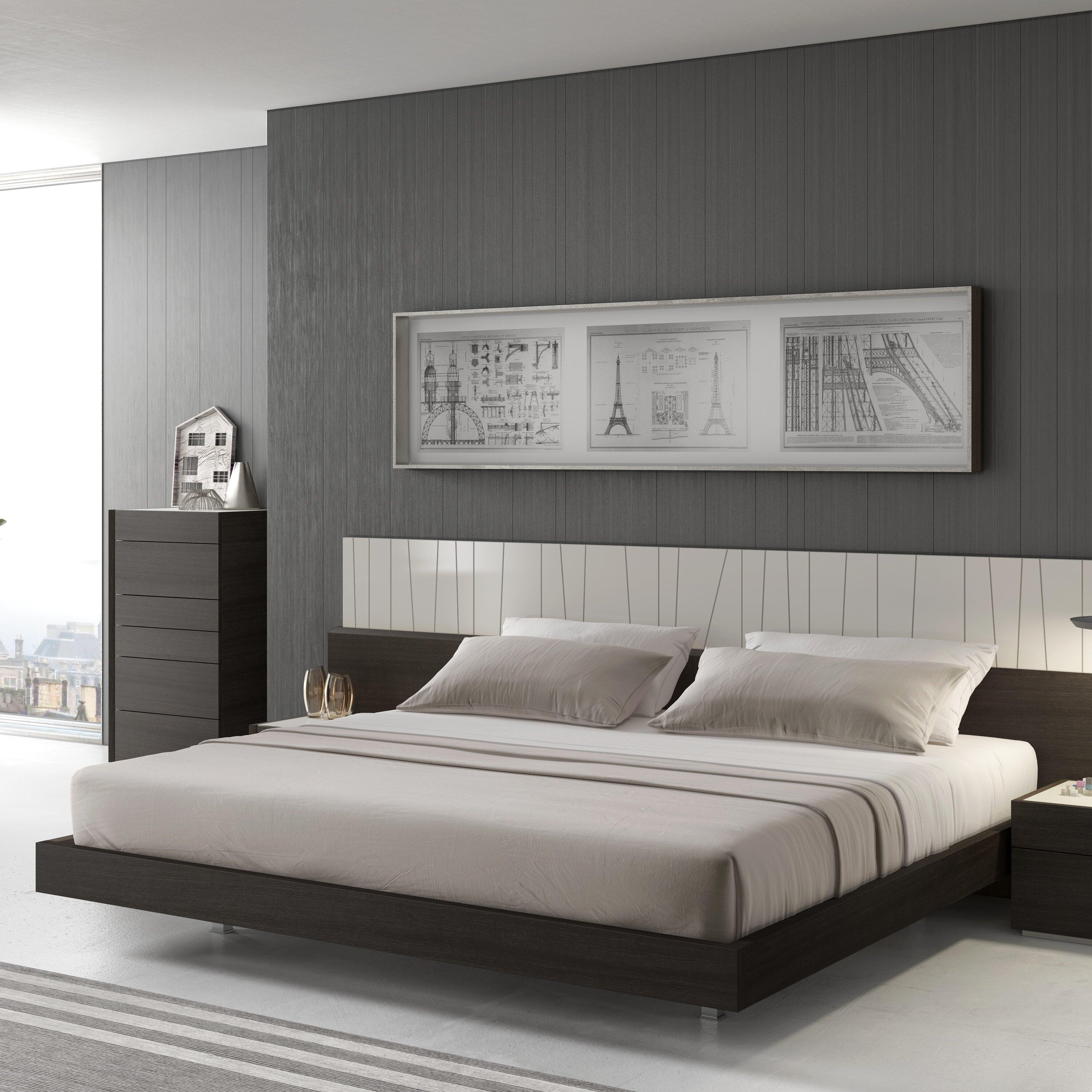 Orren Ellis Elida Platform Bed Reviews Wayfair