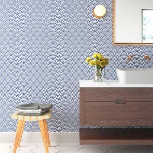 Nu 18 X 20 5 Arrowhead Deep Blue Wallpaper Roll