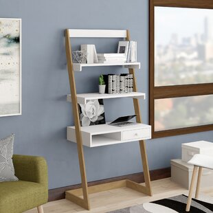 Calvin Freestanding L-Shaped Ladder Desk by George Oliver Discount