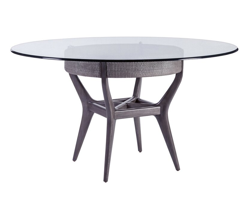Artistica Signature Designs Dining Table With Glass Top Wayfair