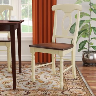 Shelburne Traditional Solid Wood Dining Chair (Set of 2) Laurel Foundry Modern Farmhouse