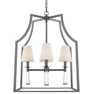 Gracie Oaks Indimar 4-Light Lantern Pendant
