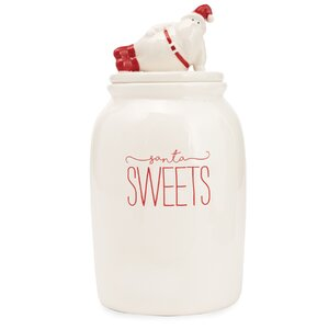 Santa Sweets Cookie Jar