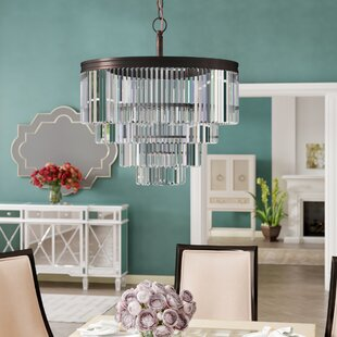Top Reviews Domenique 6-Light Chandelier By Willa Arlo Interiors