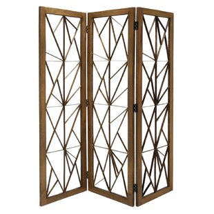Lakendra 3 Panel Room Divider by Brayden Studio