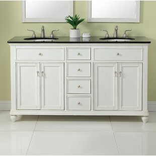 Fawkes 60 Double Bathroom Vanity Set by Rosecliff Heights