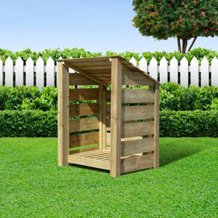 Stanardsville 3 Ft. x 3 Ft. Wood Log Store by Lynton Garden