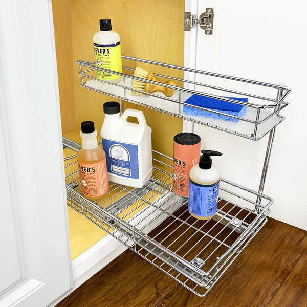 Retreat Under Sink Shelving Unit Ideal For Storing Bathroom Essentials White