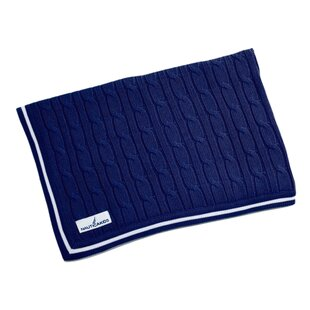 Best Reviews William Cable Knit Blanket ByNautica