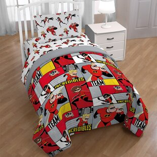 Incredibles Super Family Twin Sheet Set by Disney 2019 Sale