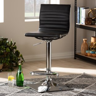 Kamden Adjustable Height Swivel Bar Stool Orren Ellis