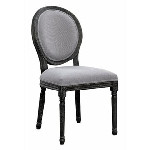 Tomaz Vintage Style Upholstered Dining Ch..
