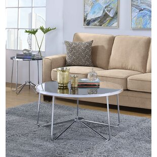 HomeRoots 2 Piece Coffee Table Set