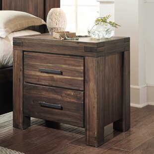 Akers 2 Drawer Nightstand