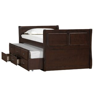Affordable Price Chamblee Captains Bed with Trundle by Simmons Casegoods by Harriet Bee Reviews (2019) & Buyer's Guide