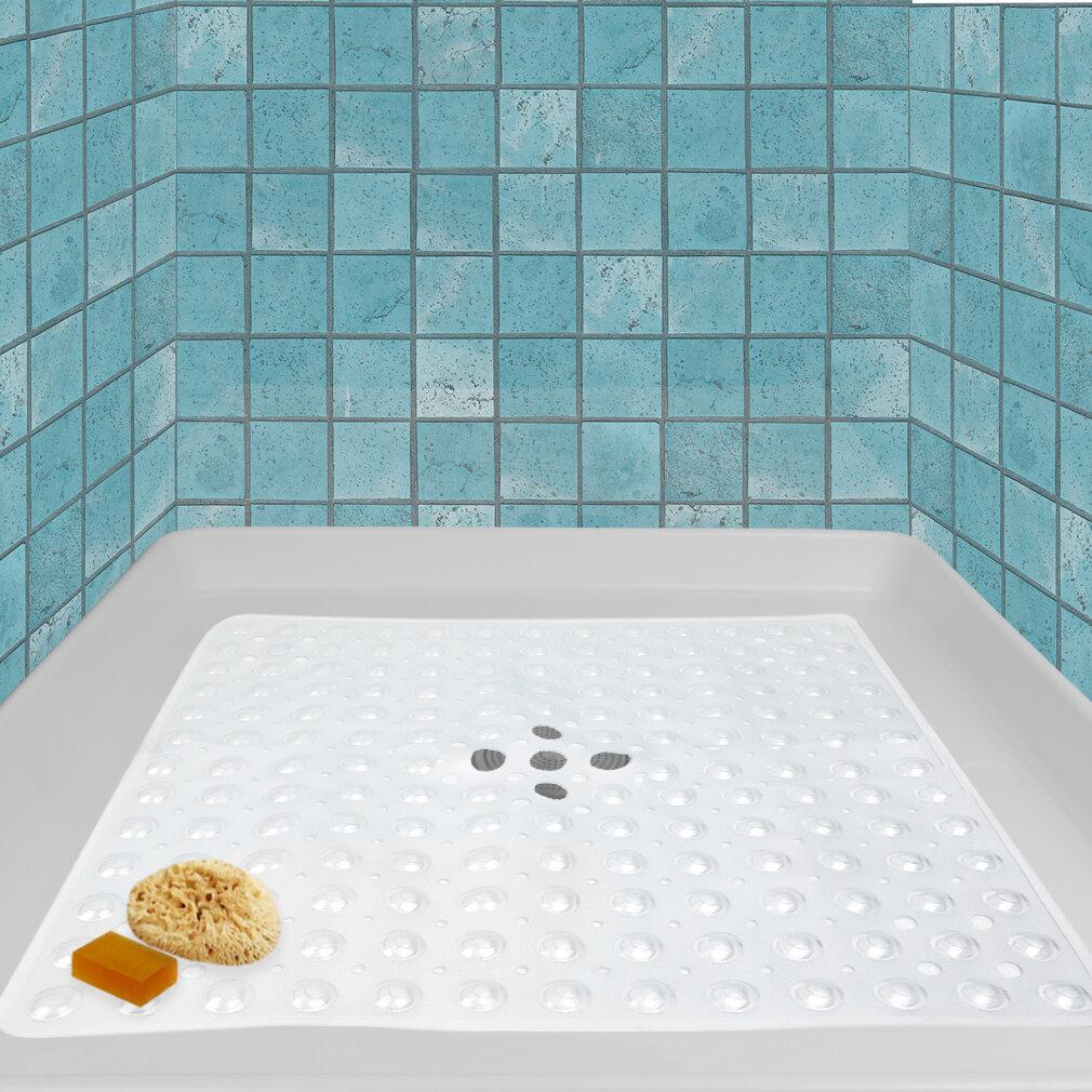Laude Run Cabbott Shower Mat Wayfair