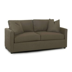 Hertfordshire Enso Memory Foam Regular Sleeper Loveseat