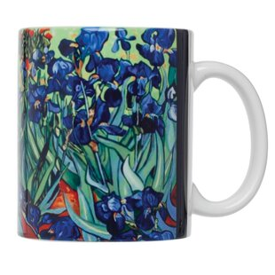 Vincent Van Gogh Les Irises Fine Art Coffee Tea Mug (Set of 4)