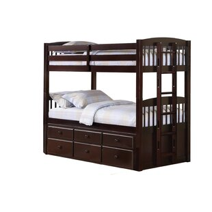 Weibel Twin over Twin Bunk Bed with Trundle by Harriet Bee